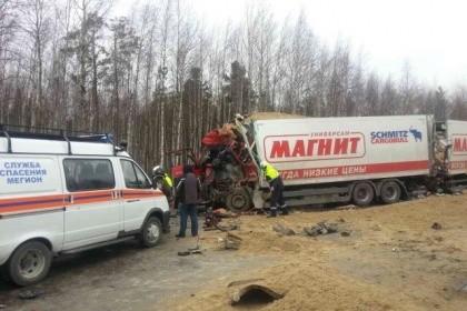 Нижневартовск: шофёр фургона разбился вДТП натрассе Сургут