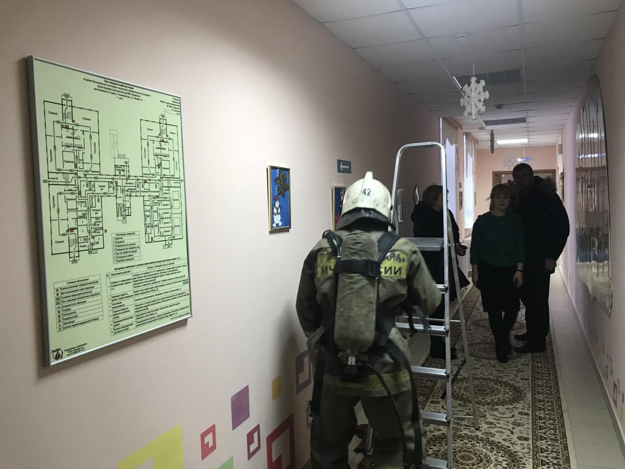 Сегодня произошла эвакуация в одном из детских садов Нижневартовска