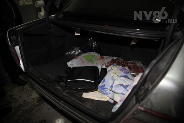 задержан водитель мерседеса в ханты-мансийске