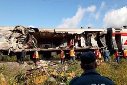 Число пострадавших вДТП споездом вХМАО возросло до  20 человек