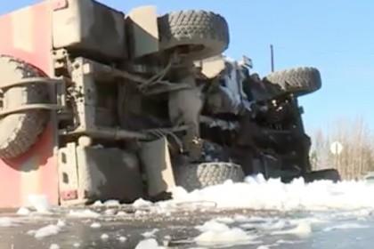 В трагедии  сперевернувшимся под Нижневартовском автобусом пострадали шесть человек