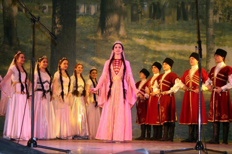 Детский конкурс фестиваль на кавказе