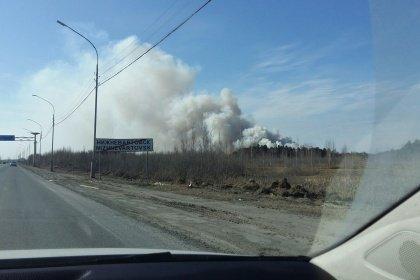 Дым отгорящей свалки Нижневартовска доносился доМегиона